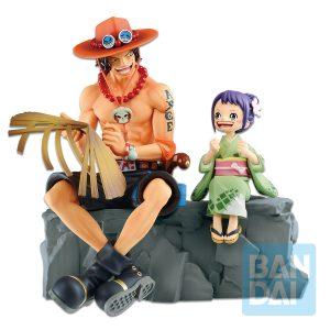 Figura Ace & Otama Ichibansho Emorial Vignette Banpresto