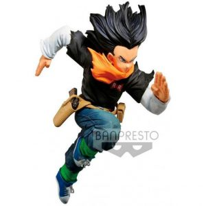 Figura C17 Banpresto World Colosseum Dragon Ball Z 17cm