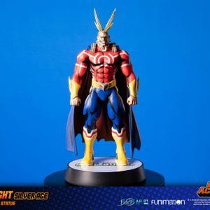 Figura All Might F4f My Hero Academia Silver Age ST