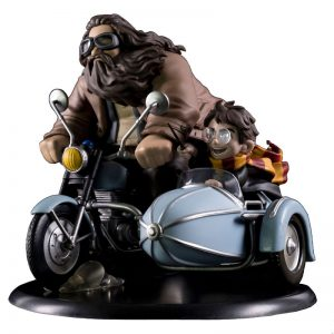 Figura diorama Harry y Hagrid Harry Potter 18cm