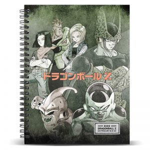 Cuaderno A4 Evil Dragon Ball