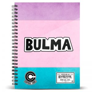Cuaderno A5 Bulma Dragon Ball