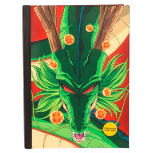 Cuaderno A5 Shenron Dragon Ball luces