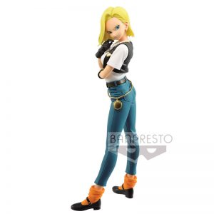 Figura Android 18 III Glitter and Glamours Dragon Ball Z A 25cm