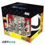 Taza One Piece Luffy's Crew Japanese Style AbyStyle