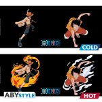Taza One Piece Heat Change Luffy & Ace AbyStyle