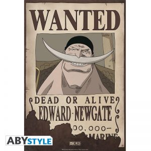 Póster Edward Newgate Wanted One Piece Abystyle