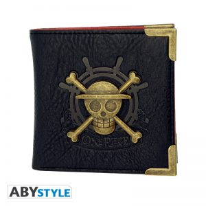"Cartera One Piece Abystyle Premium Wallet ""Skull"""