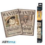 Set 2 Póster One Piece Luffy & Ace Wanted