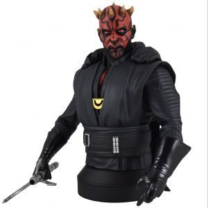 Busto Darth Maul Star Wars Diamond Resina