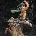 Eren Yeager Renewal Package Attack on Titan ARTFX J Kotobukiya