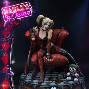 Batman Arkham City Estatua Harley Quinn Prime 1 Studio