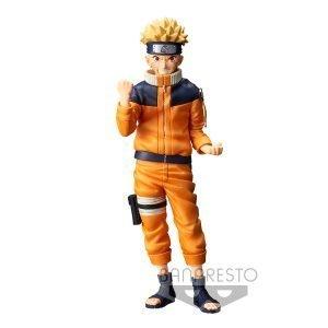 Naruto Uzumaki Nero Grandista Banpresto