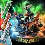 Estatua My Hero Academia Midoriya Bakugo & Todoroki Deluxe Version