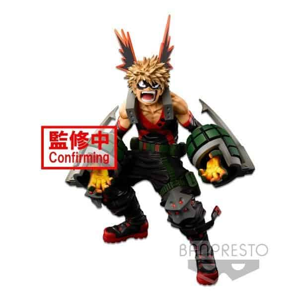 Katsuki Bakugo Super Masters Stars Piece My Hero Academia