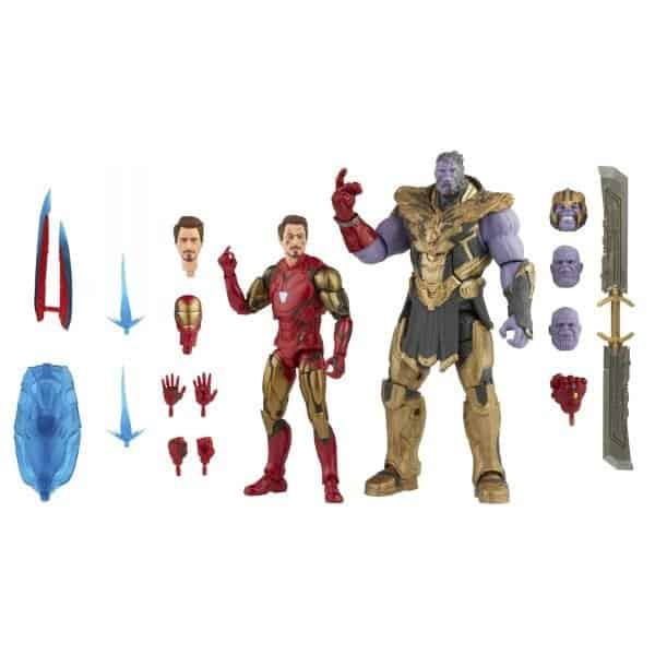 Iron Man MK 85 vs Thanos Marvel Legends