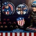Capitán América El primer vengador Egg Attack Action DX Version
