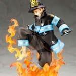 Shinra Kusakabe Glows in the Dark ARTFXJ Bonus Edition Fire Force