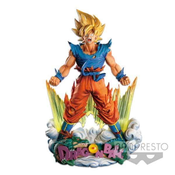 Diorama Son Goku Super Master Stars Piece The Brush Dragon Ball Z