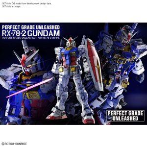 PG GUNDAM RX-78-2 UNLEASHED 1/60