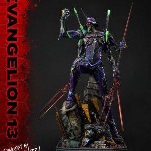 Estatua Evangelion 13 Concept by Josh Nizzi Deluxe Version Evangelion: 3.0 You Can (Not) Redo