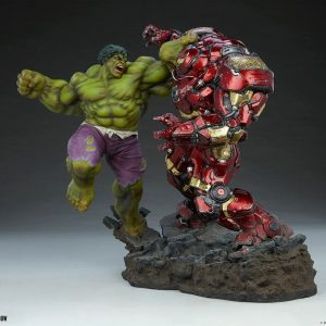 Diorama Hulk vs Hulkbuster Marvel Studios