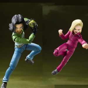 Pack Androides 17 & 18 S.H. Figuarts Dragon Ball Super