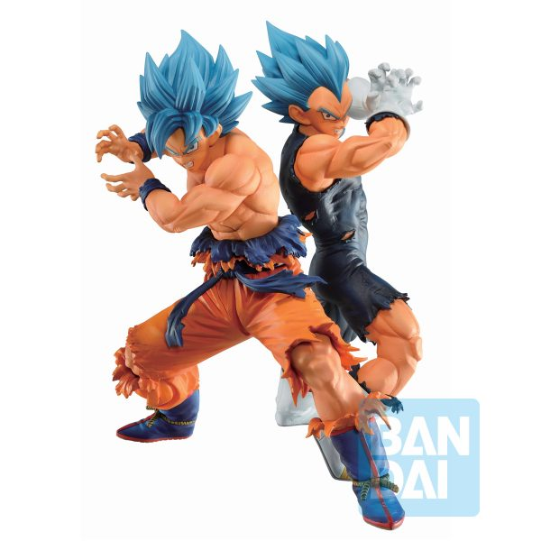 Goku & Vegeta Super Saiyan Blue Ichibansho Vs Omnibus