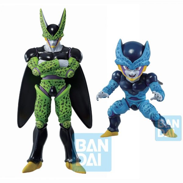 Pack Perfect Cell & Cell Jr Ichibansho Vs Omnibus