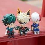 Pack 3 Nendoroids Swacchao! Bakugo + Midoriya + Todoroki